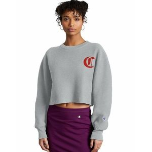 Champion Life Sweatshirt Crop Women's Crew Neck